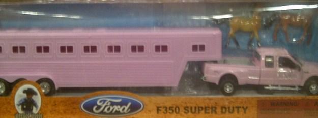 horsetrailer pink